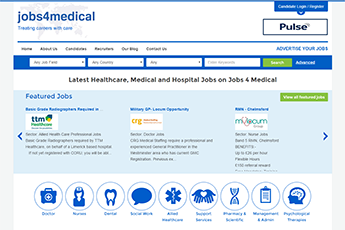 Job Board Website example