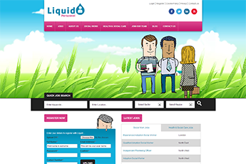 Liquid Personnel Website
