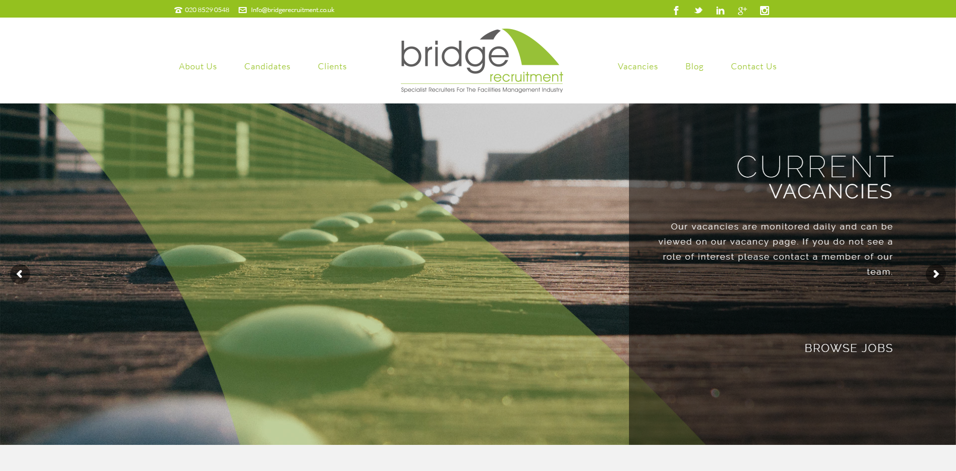 bridge website