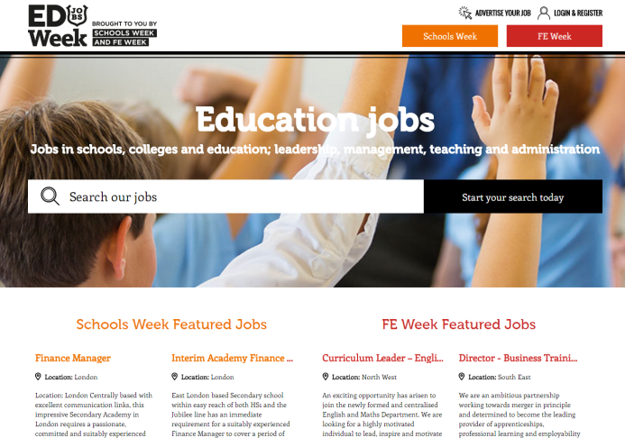 job boards for the education market